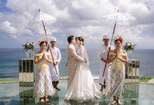 Bambang & Bunga Wedding by KAMAYA BALI