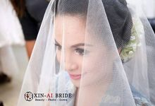makeup wedding day by Meicen Professional Makeup Artist