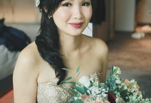Kyenne's Wedding day by Queen Makeup Artist