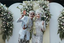 The Wedding of Dilla & Gillang by Qurotta.imagine