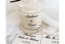 Wedding Bonbonniere  by Lorenza Soy Candles