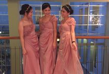 Gown PINK MAGENTA by Beautyline Usher & Pagar Ayu