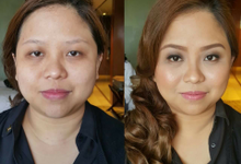 Before And After by Makeup by Marjorie
