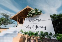 Jenny and Enky wedding at The Ritz Carlton Koh Samui by BLISS Events & Weddings Thailand