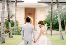 Nagisa Bali Wedding For Anh & Steven by Nagisa Bali