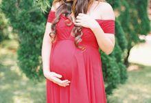 A Simple Elegant Maternity Session of Anita by Arta Photo