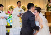 Michelle+Purnomo Wedding day by Berlian Daandel Photography