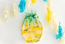 tropical pinatas by fawn & moss