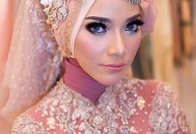 Wedding muslim by Ginna Susant Makeup