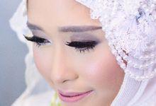 Akad Nikah Sarah by Mezuira MakeUp & Hijab Style