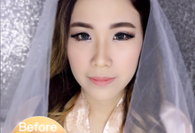 Wedding Makeup  by Rac.mua
