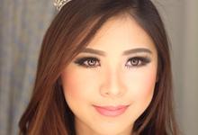 Trial wedding makeup for Mrs. Friska Wijaya by Rachel Liem Makeup