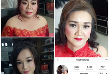 Makeup dan Hairdo Ms. Vivi  by Rachel Liem Makeup