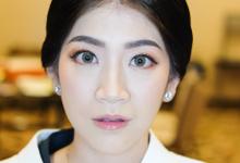 Makeup for Ms Cinthya Sesilia by Rachel Liem Makeup