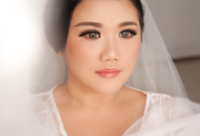 Wedding makeup and hairdo for Holy matrimony  by Rachel Liem Makeup