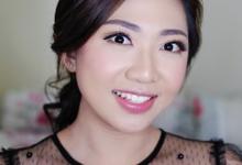 Makeup and Hairdo for Mrs. Ivana Suwanto by Rachel Liem Makeup