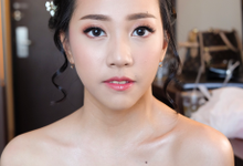 Prom night makeup and hairdo fot Ms. Anindya by Rachel Liem Makeup