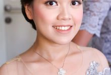 Makeup and hairdo for Dr. Amellinda by Rachel Liem Makeup