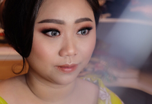 Makeup for the sister of the bride by Rachel Liem Makeup