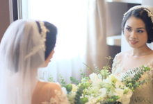 Matrimony makeup and hairdo for Mrs. Ira by Rachel Liem Makeup