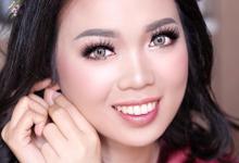 Night makeup for Ms. IRA by Rachel Liem Makeup