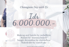 Cheongsam day with Us Package by Rachel Liem Makeup