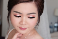 Makeup and hairdo for Ms. Stella Indarto by Rachel Liem Makeup