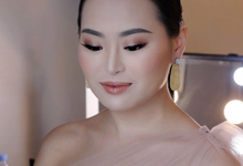 Makeup and hairdo for Ms. Vanessa  by Rachel Liem Makeup