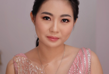 Makeup and hairdo fot Mrs. Ai Wan by Rachel Liem Makeup