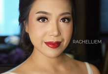 Wedding makeup for Ms. Audrey  by Rachel Liem Makeup