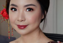 Sangjit makeup for Mrs. Jessica Nyoto by Rachel Liem Makeup