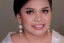 Trial Wedding Makeup for Mrs. Fransiska by Rachel Liem Makeup