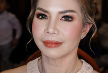 Morning and night makeup for Ms. Hanna  by Rachel Liem Makeup