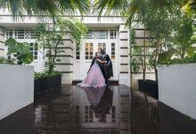 Wedding Day of Batman and Rachel by oolphoto