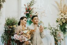 Rachel Theresia & Audy Pratama Engagement Day by Medina Catering