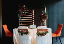 Rach + Shing (Rustic Red Wedding) by Huahee