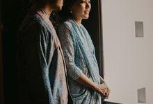 Rangga & Venenza Engagement at Mirasari Kemang by AKSA Creative