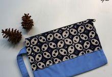 Dompet & Tissue Cover bahan Drill Batik by Elok by Ibu
