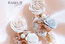 Bridal Earrings by Rahel W Signature
