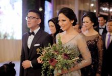 PUTRI & MAENDRA - SECOND WEDDING RECEPTION by Promessa Weddings
