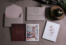 A LOVE STORY by BloomingDays Invitation Studio