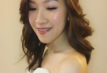 Radiant Makeup | Soft Curls Hair by Raynis Chow Bridal Make Up