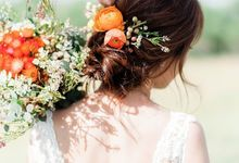 Rustic Style Bridal Styling by Raynis Chow Bridal Make Up