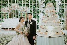 The Royal Wedding Emily & Gandy at Menara Peninsula Reception by Warna Project
