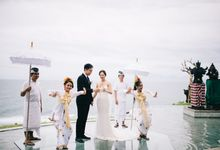 The Wedding of Kiao Nan & Yang Dan by KAMAYA BALI