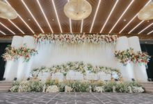 Wedding Reception Of Ryan & Dara by  Menara Mandiri by IKK Wedding (ex. Plaza Bapindo)