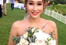 Bridal Makeup And Hairdo by Izzy Makeup Artistry