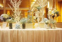 A Dreamy Cinderella Wedding at Grand Copthorne Hotel by Manna Pot Catering