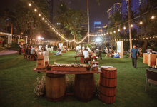 Garden wedding themed party by Red & White Moments