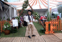 MC wedding Intan and Fajri by Redimasherlambang